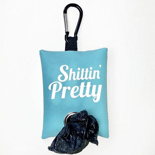 Shittin' Pretty Poop Bag Dispenser