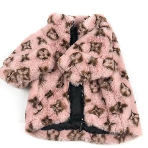 Pink Teddy Jacket