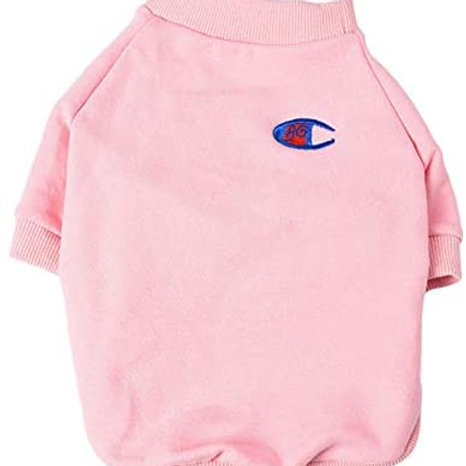 Pink Champ Pullover Sweater