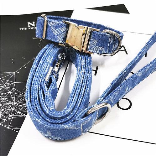 Denim Collar Set