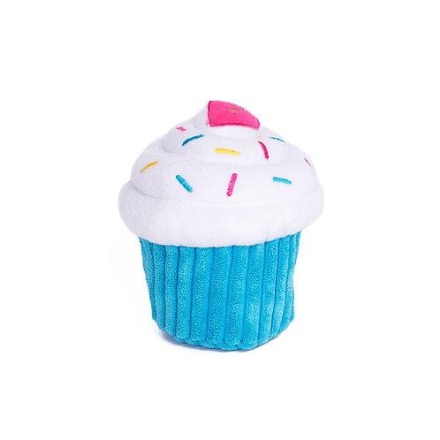 Blue Birthday Pupcake Toy