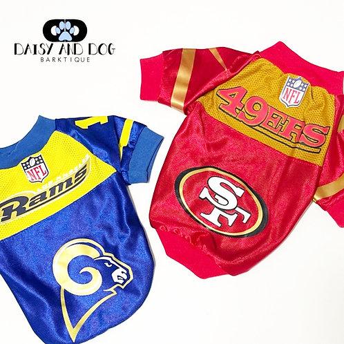 49ers Pet Jersey