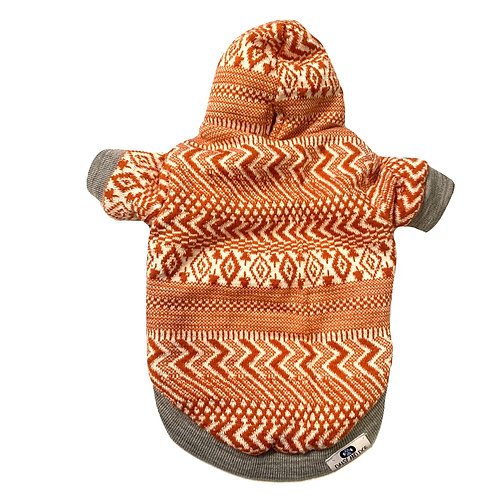 Cozy Burnt Orange Hoodie