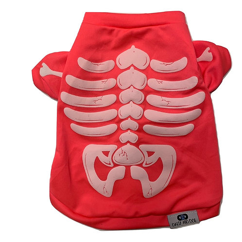 Pink Skeleton Tee