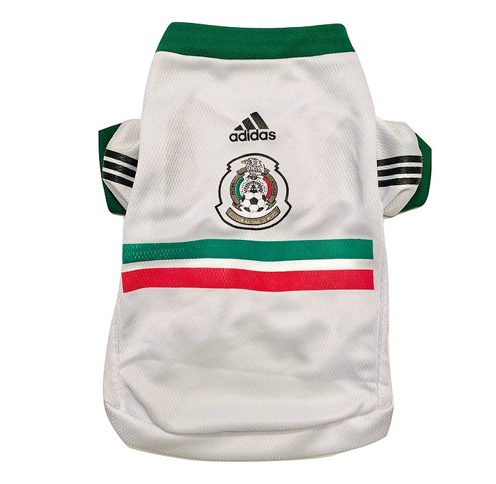 White Mexico Pet Jersey