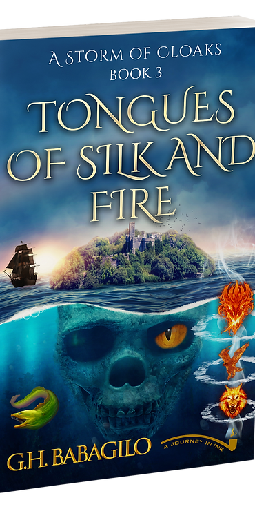 Tongues of Silk and Fire: Book 3 - AUTOGRAPHED