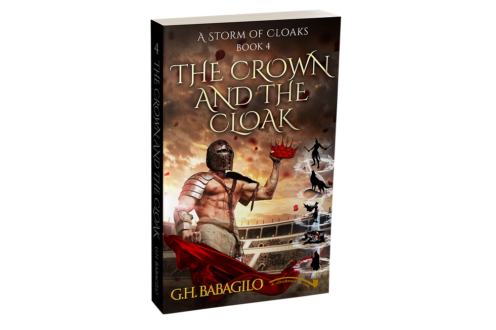 The Crown and the Cloak: Book 4 - AUTOGRAPHED
