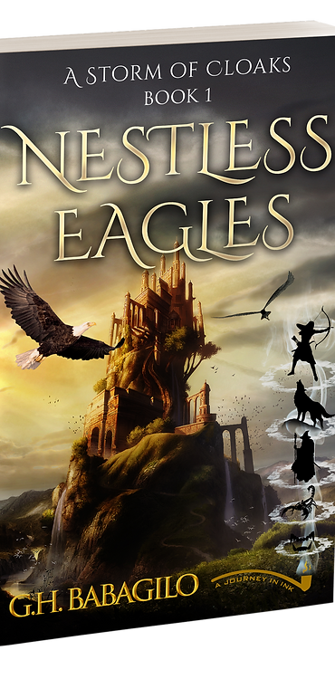 Nestless Eagles: Book 1  - AUTOGRAPHED