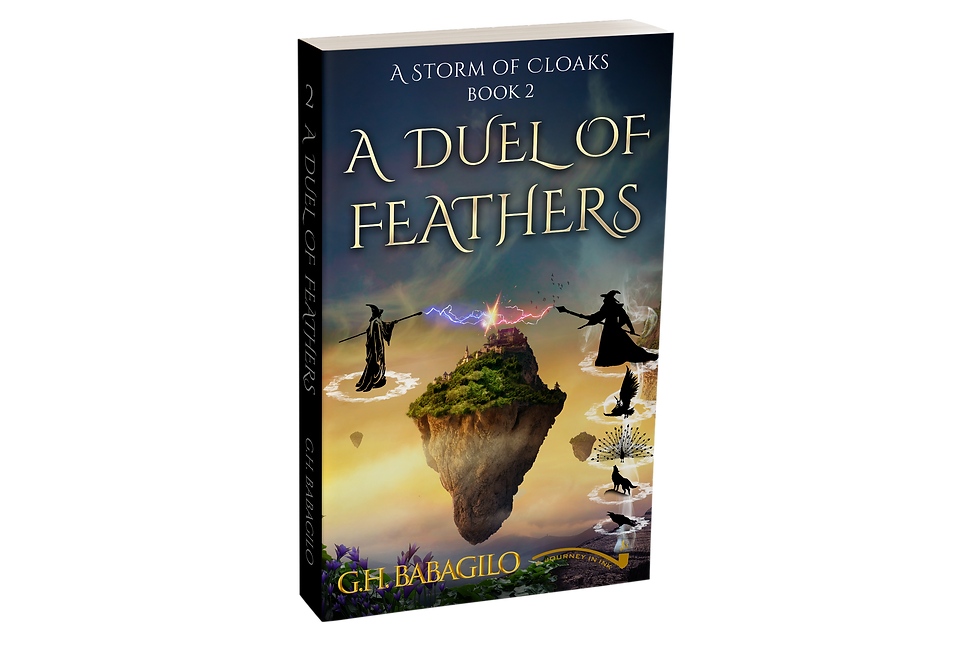 A Duel of Feathers, Book 2 - AUTOGRAPHED