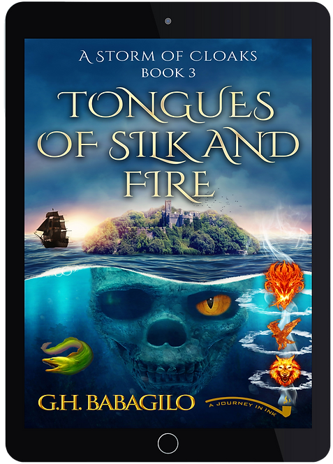 Tongues of Silk  and  Fire: Book 3