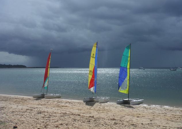 SAILS Catamaran at Raby Bay