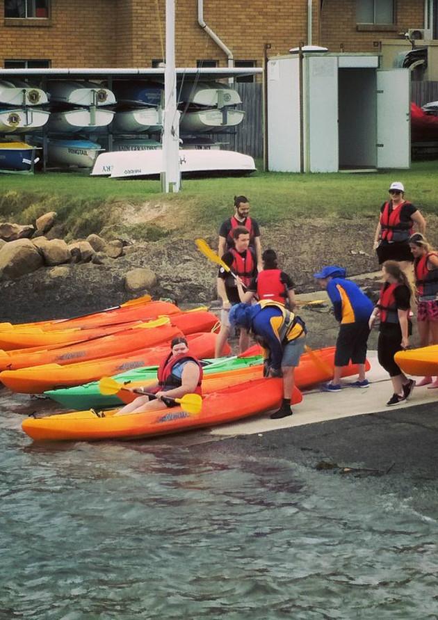 SAILS Kayaking at DPSS Manly