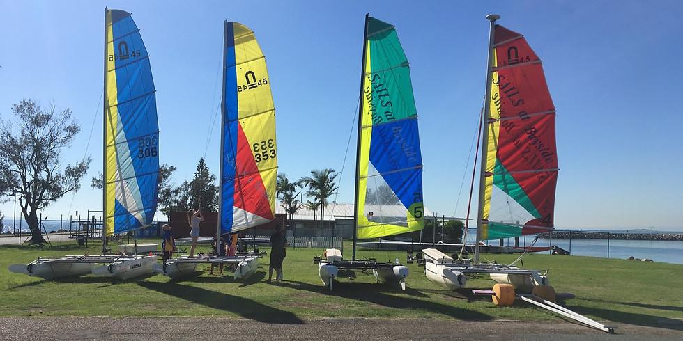 BCC Active Parks Sailing & Kayaking 9 Oct 2021 - Wynnum - (run by SAILS at Bayside)