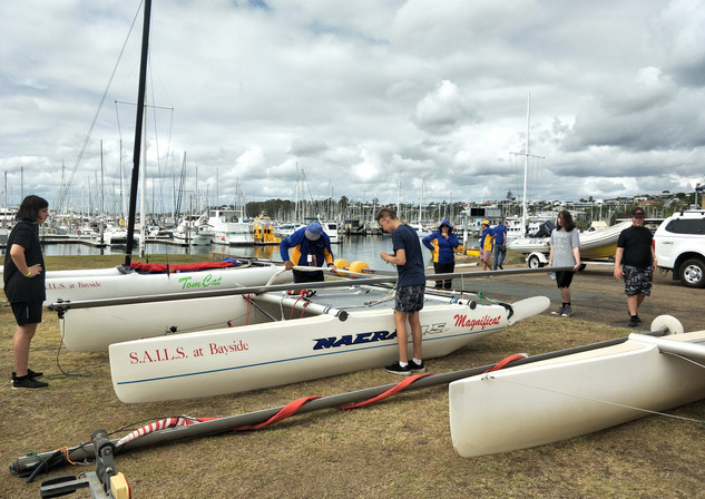 Learn to Sail with SAILS at Bayside