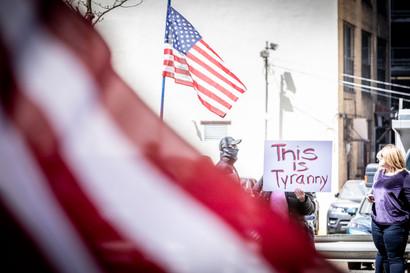 Reopen PA Rally Elan Mizrahi Photography