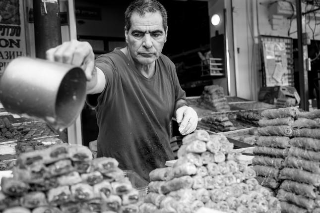 carmel market baklava