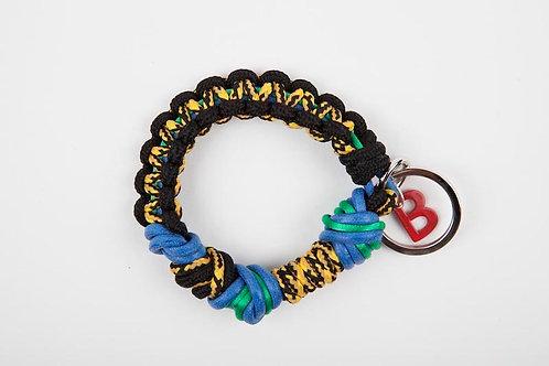CELTIC KNOTS Keyhanger Black & Eraser Blue