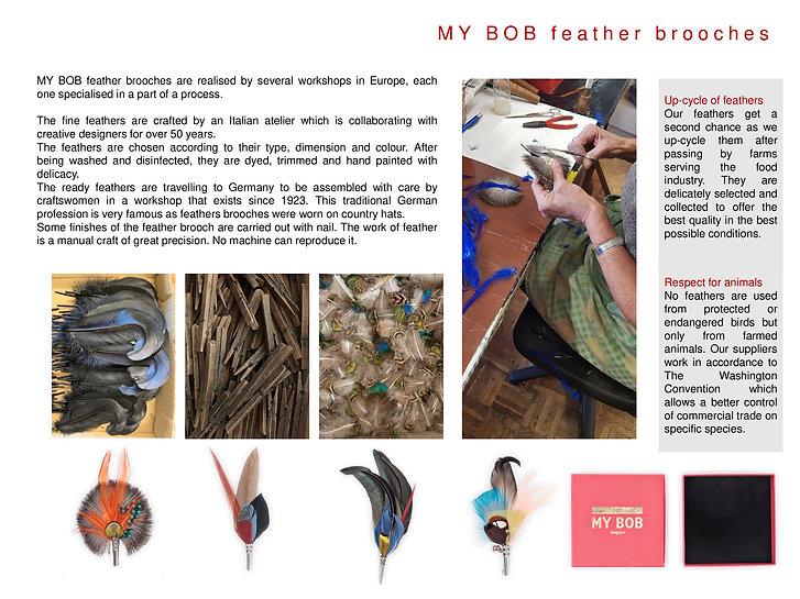 B.V-MY-BOB-feather-Brooches-presentation