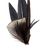 Thumbnail: PENCIL Brooch Feathers Black