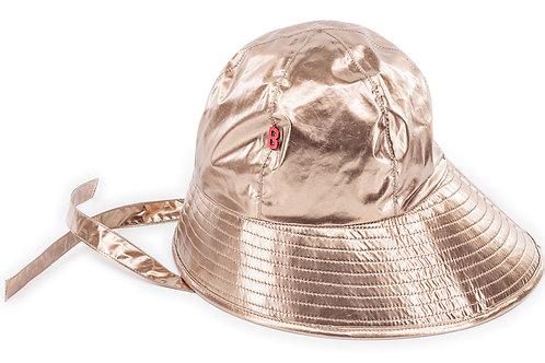 SAILOR BOB MODERN BUCKET HAT -SILVER GOLD