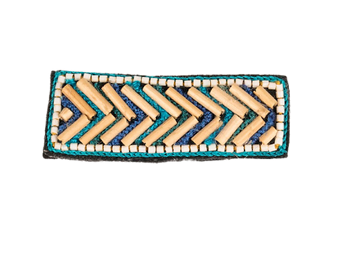 COLONEL Brooch - Embroidery Blue