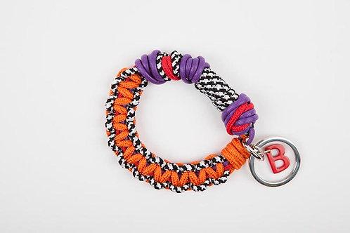 CELTIC KNOTS Keyhanger Orange & Purple