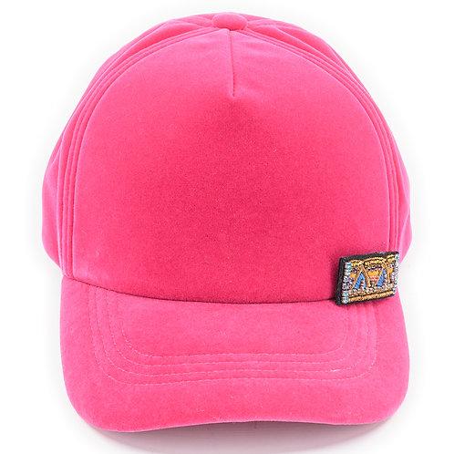 RAPPER CAP Velvet Pink