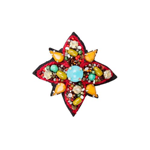 TIARA STAR Brooch Multicolour