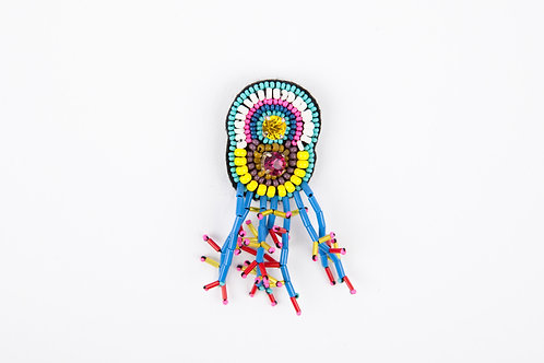 DORMEUSES BROOCH Yellow