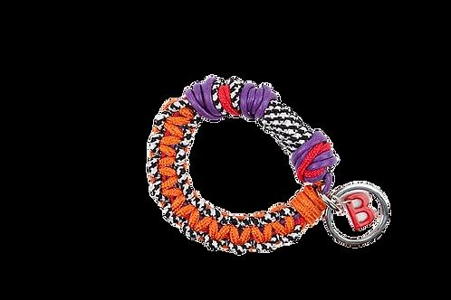 CELTIC KNOTS Key Ring - Orange & Purple