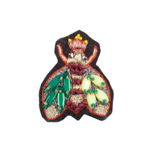ABELHA Brooch - Embroidery Multi Colours