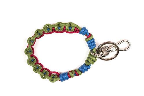 CELTIC KNOTS Key Ring - Red & Blue