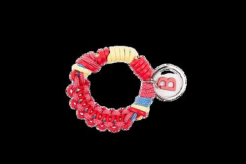 CELTIC KNOTS Key Ring - Taned Pink & Sun Ray