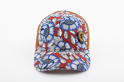 RAPPER CAP ANEMONE With PAISLEY MIRROR