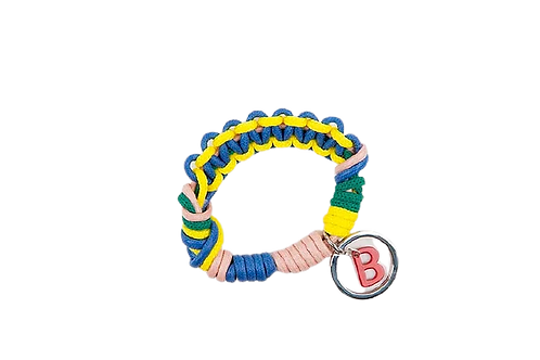 CELTIC KNOTS Key Ring - Yellow & Blue