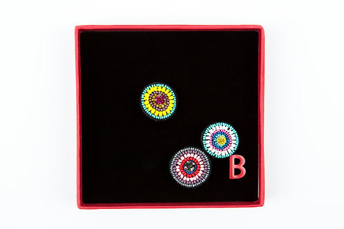 COCARDE Brooches