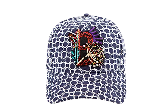 BASEBALL CAP CHAINETTE With FLOWER