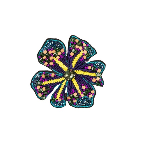HELEBORE Brooch Embroidery