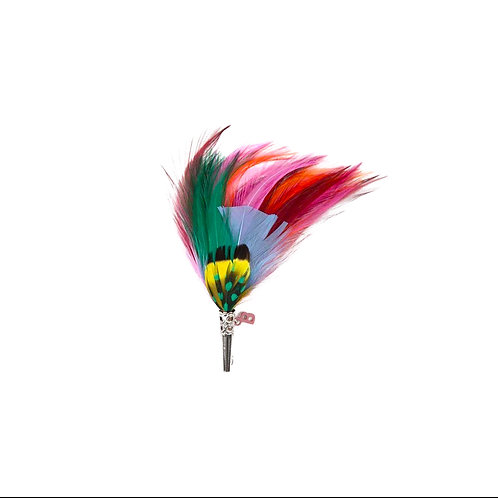 LOOSE Brooch Feathers Multi colours
