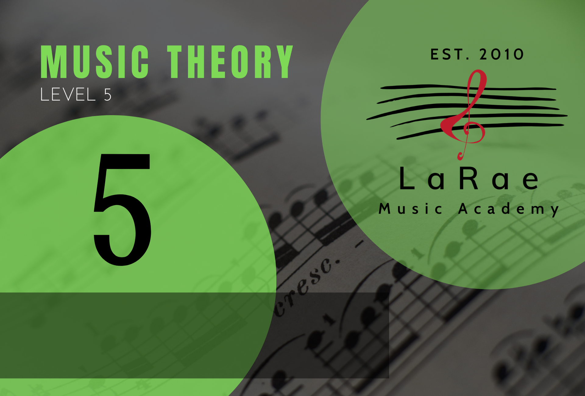 Music Theory Level 5