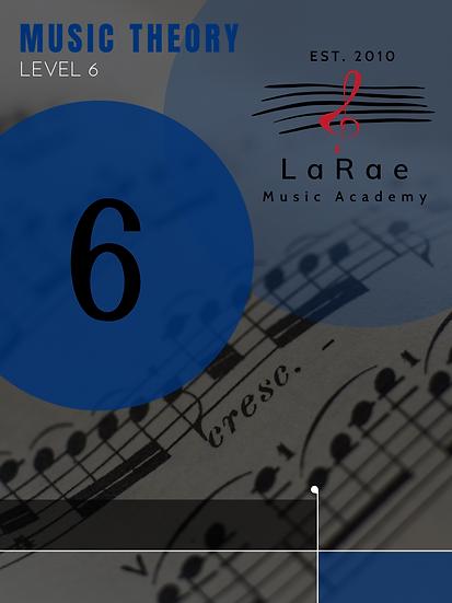 Music Theory Level 6