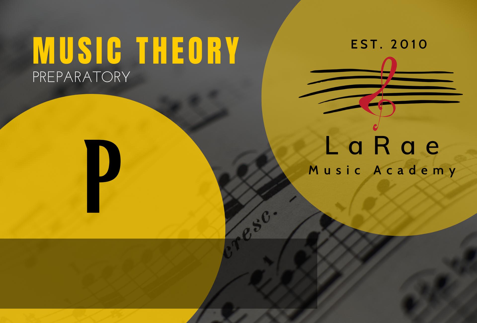 Music Theory Preparatory Course