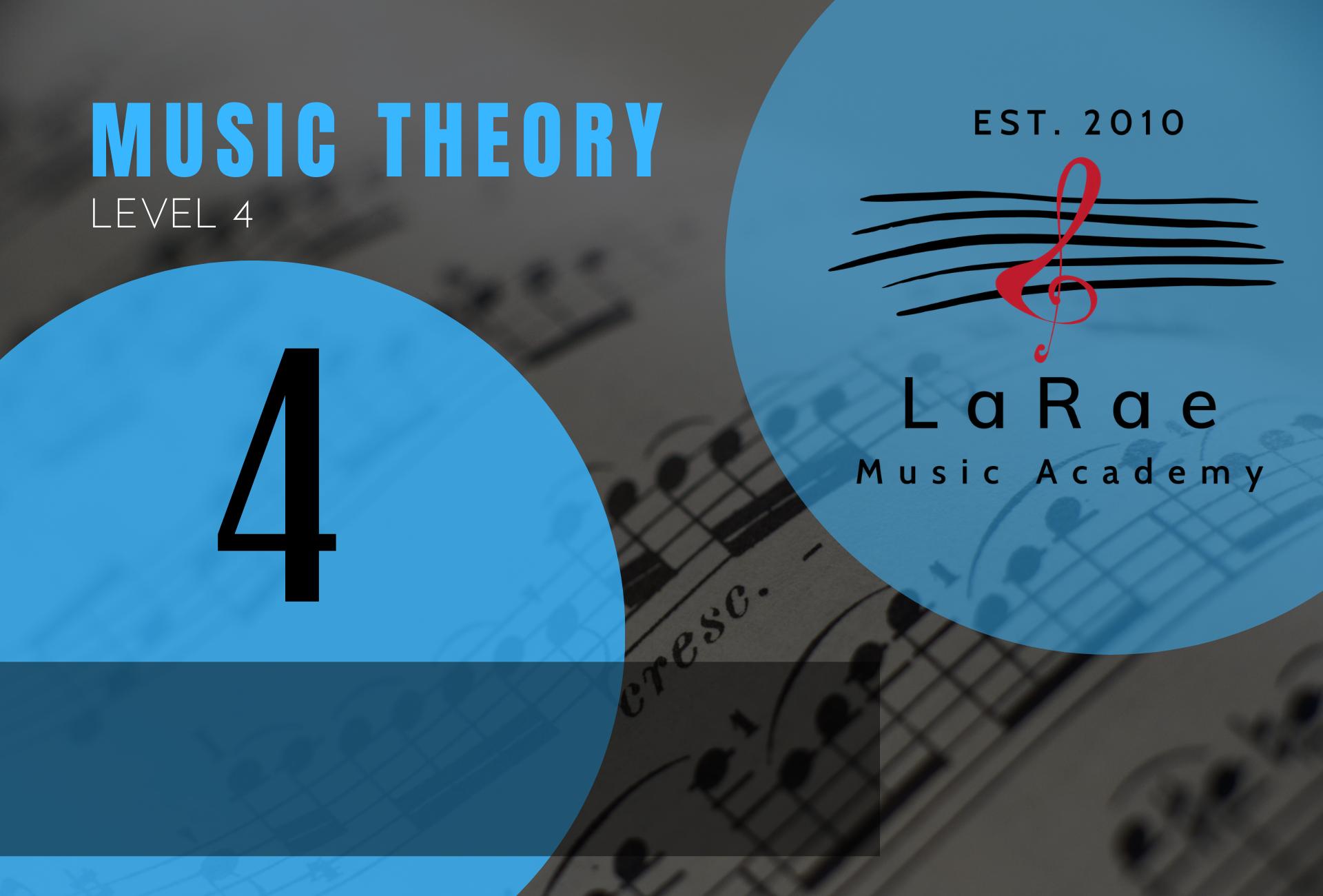 Music Theory Level 4