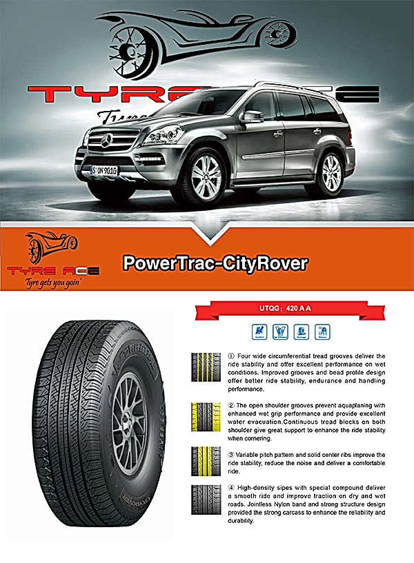All SUV sizes in Powertrac with best price in town