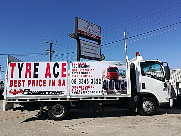 Tyre Ace Mobile Service call outs 247 South Australia