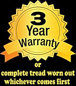 Tyre Ace 3 Year Warranty