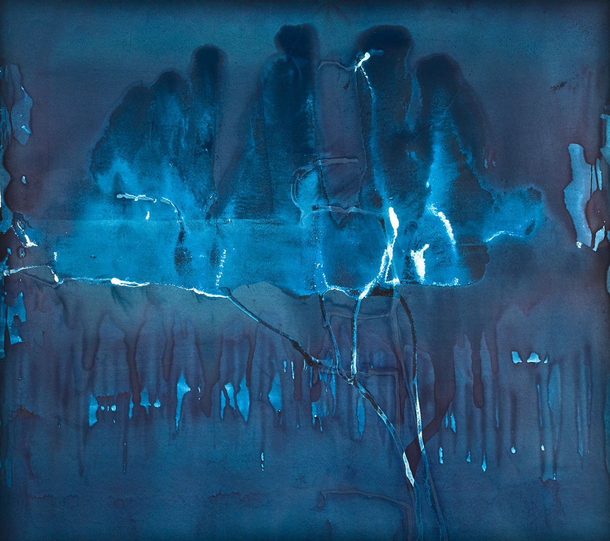 Untitled, from the 'Prussian Blue' series