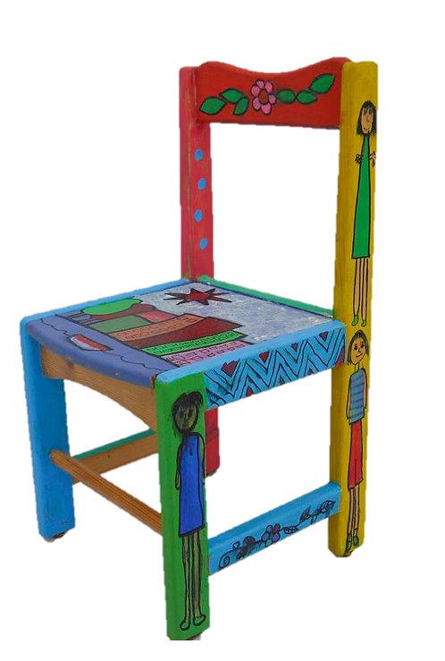 Elmer Inspired Chair (2)