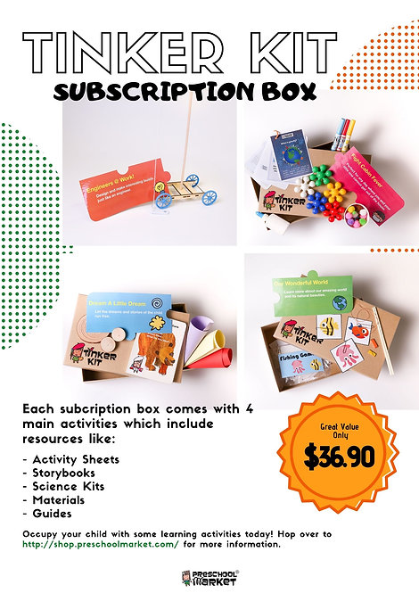 Tinker Kit Subscription Box Starter Pack