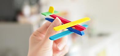 Wooden Toy Aeroplane